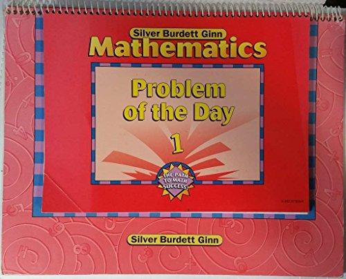 Silver Burdett Ginn Mathematics Problem of the: Silver Burdett Ginn