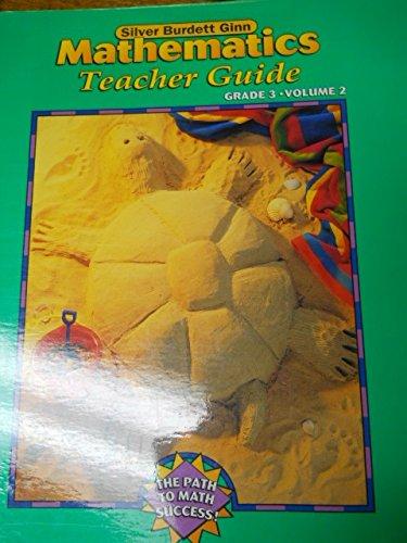 9780382374456: Silver Burdett Ginn Mathematics Teacher Guide Grade 3, Vol. 2