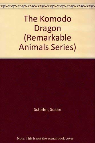 9780382396076: The Komodo Dragon (Remarkable Animals Series)