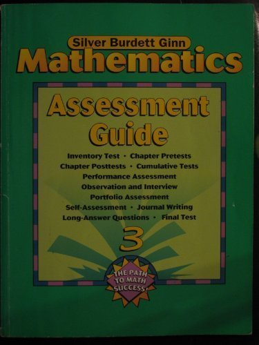 9780382402838: Mathematics, Assessment Guide 3 (The Path to Math Success)