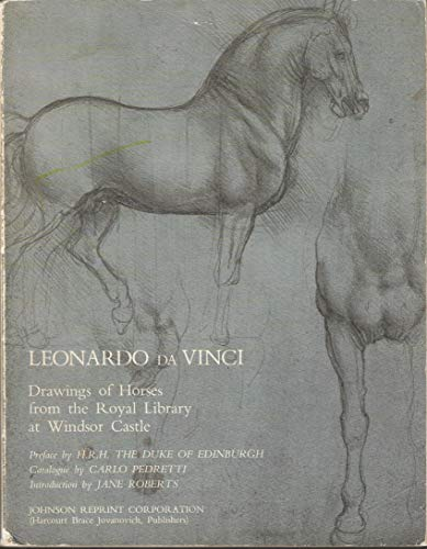 9780384452824: Leonardo da Vinci: Drawings of Horses and Other Animals from the Royal Library at Windsor Castle