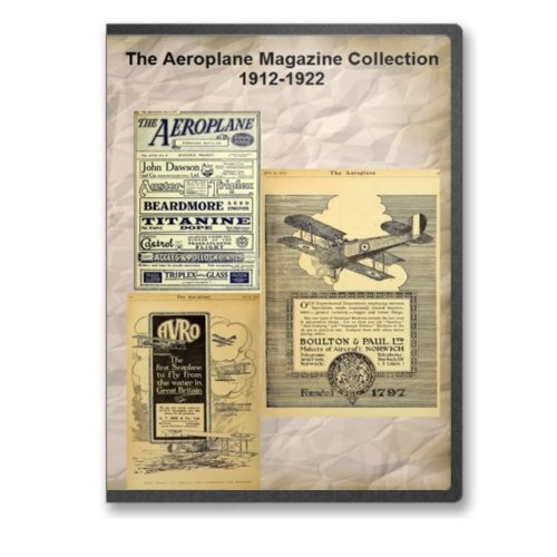 9780384940659: The Aeroplane Magazine Collection 1912-1922