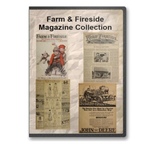 9780384940758: Farm & Fireside Magazine 1867-1921 2 DVD Set - 700+ Issues - Period Farm Ads, Farm Life, Issues of the Day