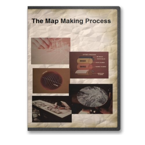 9780384946354: The Map Making Process - Cartography Documentary