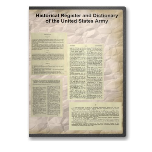 Historical Register and Dictionary of the United
