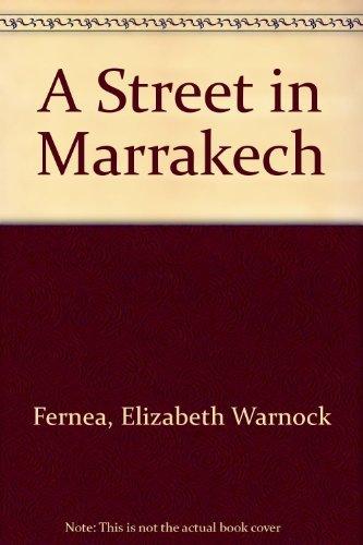 9780385000963: A Street in Marrakech