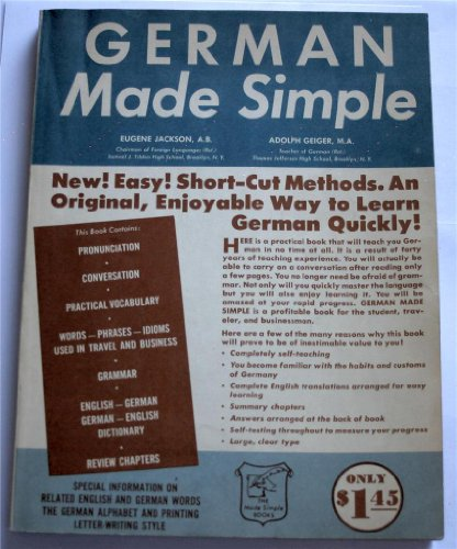 German Made Simple: Jackson, Eugene