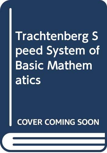9780385001823: Trachtenberg Speed System of Basic Mathematics