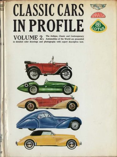Classic Cars in Profile Volume 2 [Hardcover]: Anthony Harding; Gordon