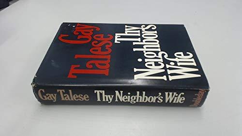 9780385006323: Thy Neighbor's Wife