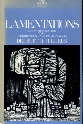 9780385007382: Lamentations (The Anchor Bible , Vol. 7A)