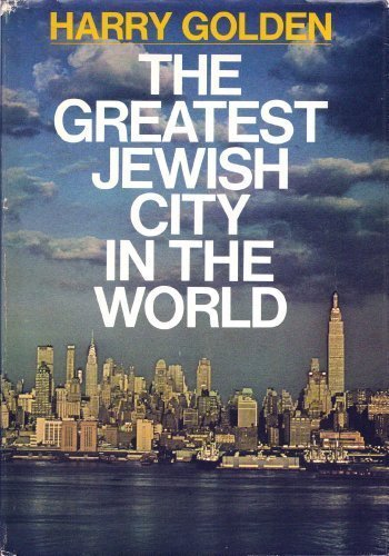 The Greatest Jewish City in the World. Selected Photographs by Jay Maisel: Golden, Harry