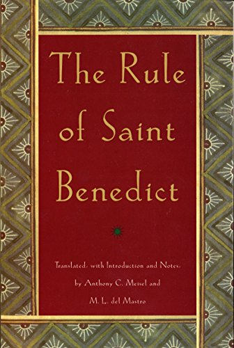 9780385009485: The Rule of St. Benedict (An Image Book Original)