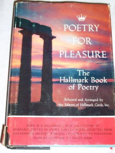 9780385009737: Poetry for Pleasure: The Hallmark Book of Poetry,