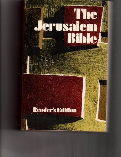 Bible Jerusalem Readers: Jerusalem Doubleday