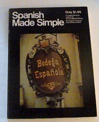 Spanish Made Simple Edition: Jackson, Eugene