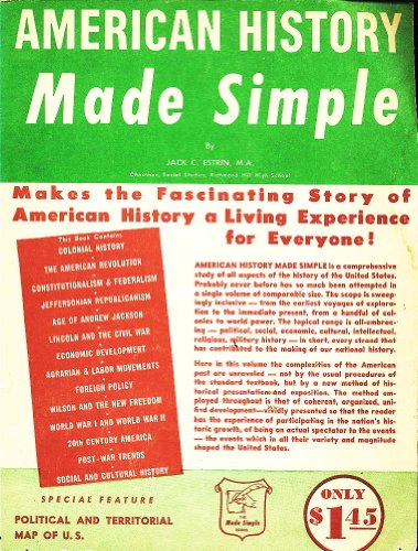 9780385012140: American History Made Simple
