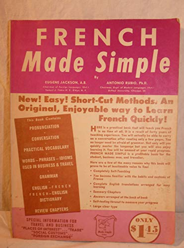 9780385012195: French Made Simple