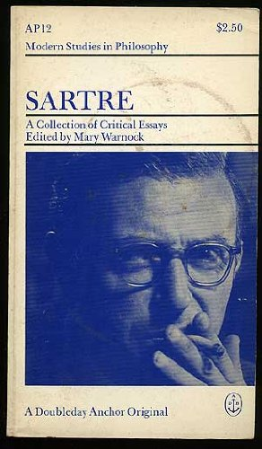 Sartre: A Collection of Critical Essays.: Warnock, Mary, Comp.