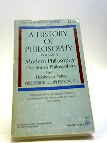 9780385016346: History of Philosophy, Volume 5, Part 1