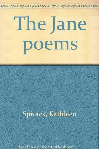9780385018715: The Jane poems