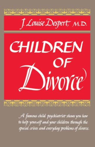 9780385020015: Children of Divorce