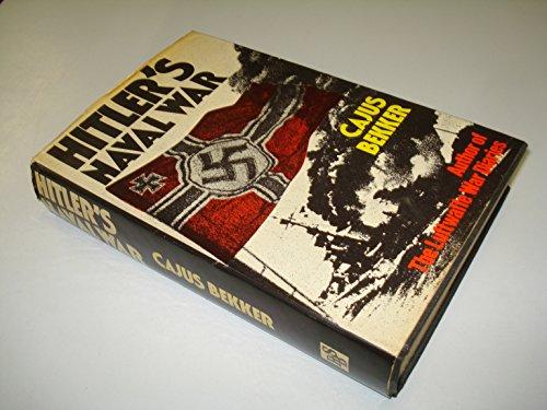 9780385020220: HITLER'S NAVAL WAR