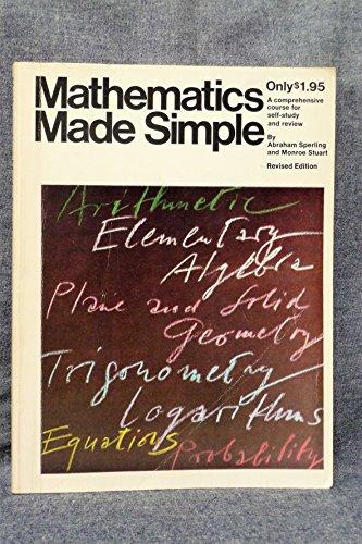 9780385020886: MATHEMATICS Made Simple