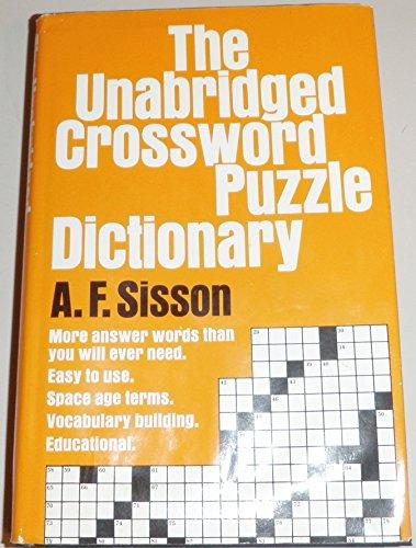 9780385028431: Unabridged Crossword Puzzle Dictionary