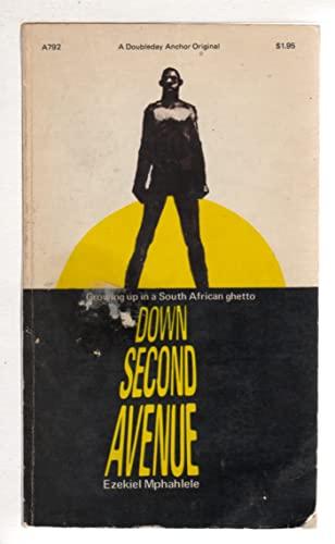 9780385031110: Down Second Avenue.