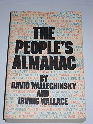 9780385040600: The People's Almanac