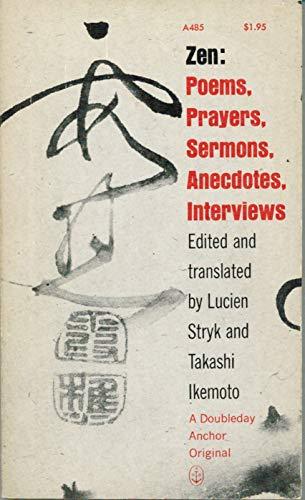 9780385044332: Zen Poems, Prayers, Sermons, Anecdotes, Interviews