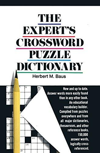 Expert's Crossword Puzzle Dictionary: Baus, Herbert M.