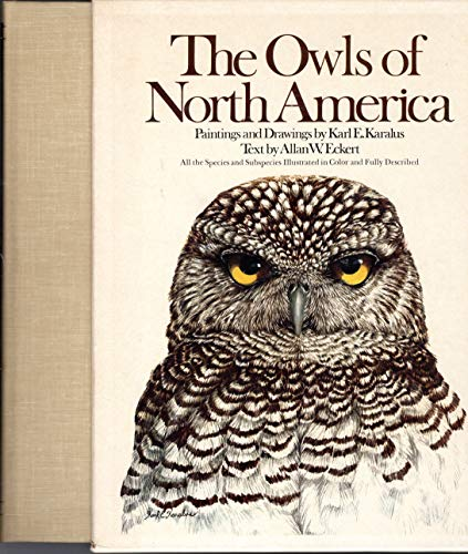 The Owls of North America, North of: Allan W. Eckert,