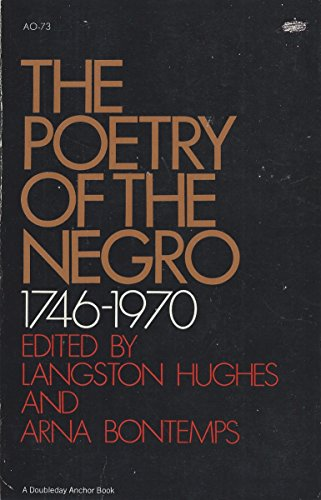 The Poetry of the Negro 1746 1970
