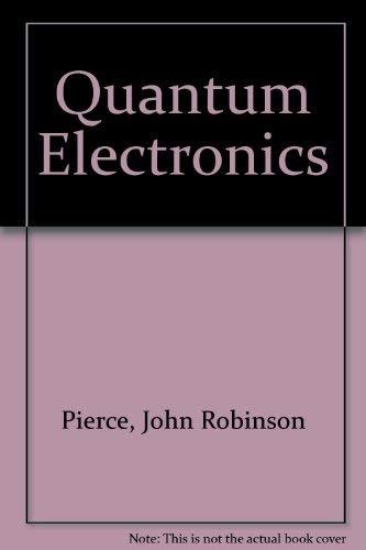 9780385056816: Quantum Electronics