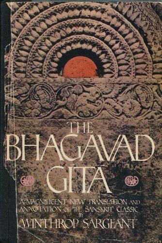 Bhagavad Gita (English and Sanskrit Edition): Sargeant, Winthrop