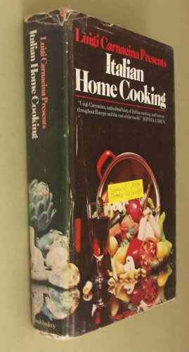 9780385064583: Luigi Carnacina presents Italian home cooking