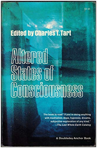 9780385067287: Altered States of Consciousness Edition: Reprint