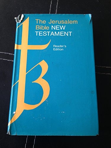 9780385069328: The Jerusalem Bible: New Testament, with Abridged Introductions and Notes