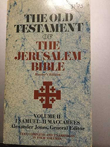 The Old Testament Of The Jerusalem Bible: Alexander Jones (General
