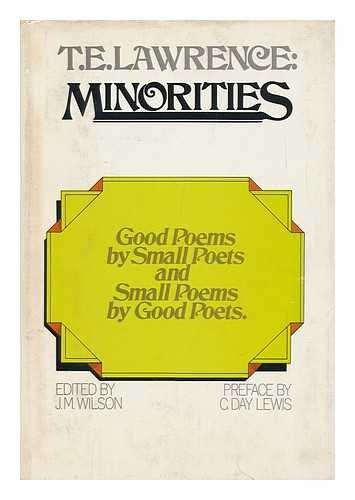 T.E. Lawrence: Minorities: WLSON, J.M., ED
