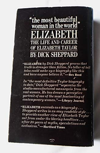 9780385073486: Elizabeth: the life and career of Elizabeth Taylor