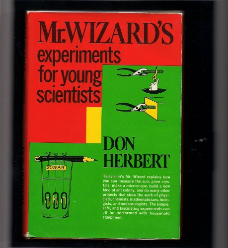9780385077989: Mr. Wizard's Experiments for Young Scientists