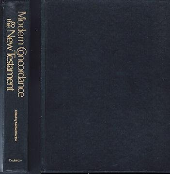 Modern Concordance to the New Testament (English