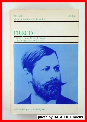 9780385079709: Freud: A collection of critical essays (Modern studies in philosophy)
