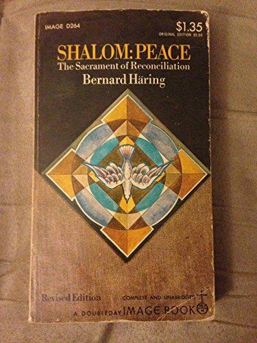 9780385079716: Shalom: Peace - The Sacrament of Reconciliation