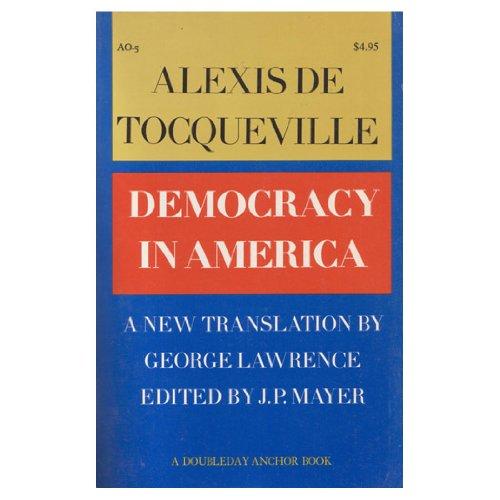 9780385081702: Democracy in America