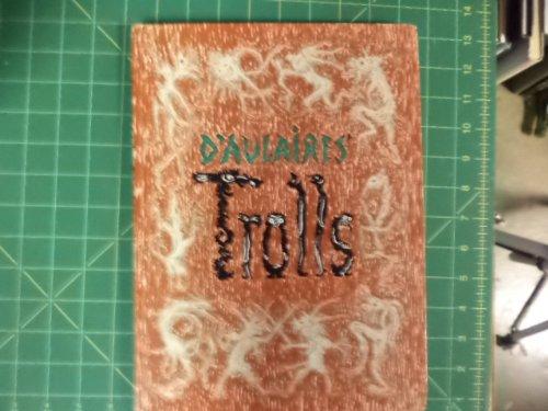 D'Aulaires Trolls (038508255X) by Edgar Parin D'Aulaire; Ingri D'Aulaire