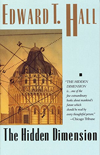 9780385084765: The Hidden Dimension (Anchor Books a Doubleday Anchor Book)